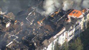 Newton Apartment Fire